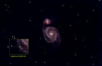 M51 with supernova SN2011dh