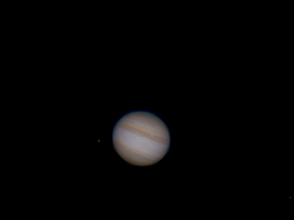 Jupiter from a wide angle.